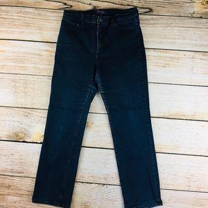 Not Your Daughters Jeans 14P dark stretch bootcut